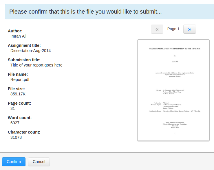 Turnitin Guide for Students – HELPDESK @ ITServ